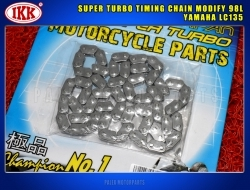 IKK SUPER TURBO TIMING CHAIN MODIFY 98L YAMAHA LC135 / EXCITER 135 / SNIPPER / CRYPTON / SPARK 135