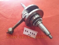 Crankshaft Assy Original Modified Jack Rod 8mm Yamaha LC135/ Crypton X/ Sniper 4 Speed (AUTO)