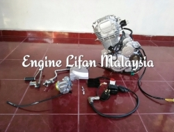 Engine lifan 200cc timing chain,stater