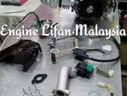 Engine lifan 110cc stater