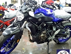 Yamaha MT-07 (CKD) New Color 2017 (Blue)