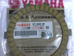 PLATE FRICTION 3 YAMAHA FZ150i SPARE PART