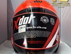 X-Dot Open Face Motorcycle Helmet G626A New 2017 Version