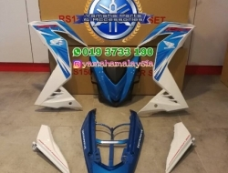 COVERSET Winner Biru HONDA RS150R