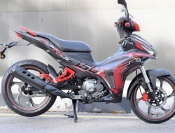 Benelli RFS 150i (Black/Red)