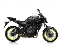 YAMAHA MT-07 2017 (Night Fluo)