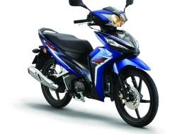 Honda wave dash fuel injection - whatapps apply (Blue)