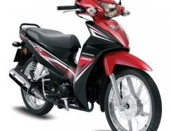 Honda wave alpha (ready stock) promotion now (Red)