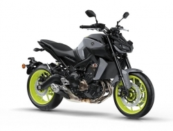 Yamaha mt-09 mt 09 new bike -17 (Night Fluo)