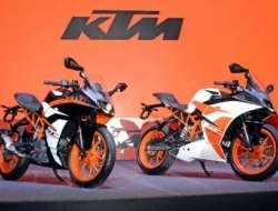 ktm rc 390 abs new colour with 12 foc (White)