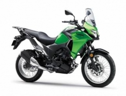 kawasaki z650 abs new model with 15 FOC (Green)