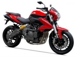 Benelli tnt 600 s new model FOC 15 barang
