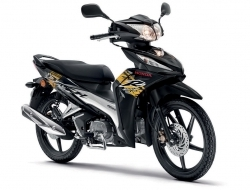 HONDA WAVE DASH 2 DISC (Black)