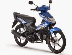 HONDA WAVE DASH 1 DISC (Blue)