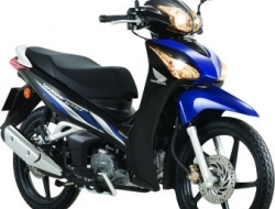 Honda Wave 125i (2 Disc) (Blue)