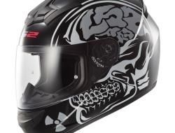 LS2 FF352 X RAY MATT BLACK Motorcycle Helmet