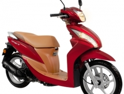 Honda Spacy 110 (Red)