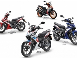 New Honda RS150R (Red)
