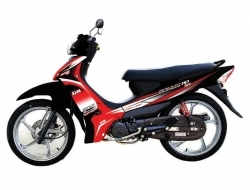 SYM bonus sr110 New (Red)