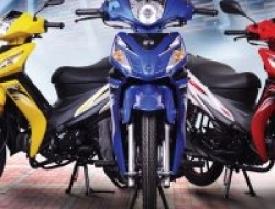modenas Kriss 110 new  mr2 (Blue)