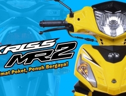 modenas Kriss 110 new  mr2 (Yellow)