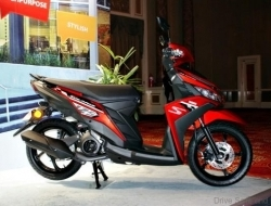 Rm 399 scooter ego solariz new yamaha (Red)