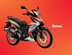 Honda rs150r repsol ready stock