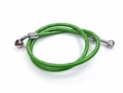 UNIVERSAL MOTORCYCLE BRAKE HOSE (GREEN 95cm)