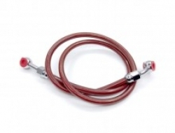 UNIVERSAL MOTORCYCLE BRAKE HOSE (RED 85cm)