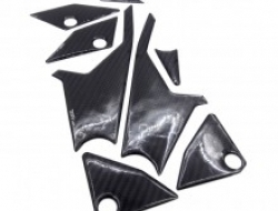 KAWASAKI Z800 CARBON FOOTREST SIDE TANK PAD