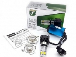MOTORCYCLE H4 LED BULB 3000LM