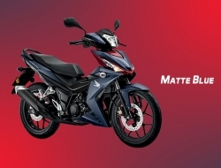 New Honda RS150 - Red, Blue, Matt Black