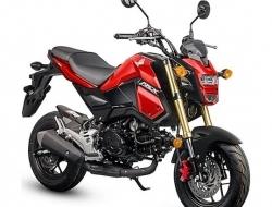 Honda MSX125 (Red)