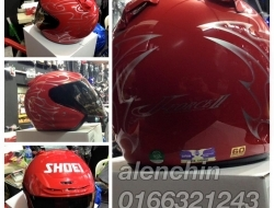 Shoei j-force (Red) XXS (52/53cm)