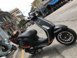 2015 Vespa Sprint 150 Limited Edition Matt Black