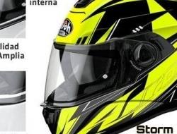 Airoh Storm Battle Gloss (Yellow) L