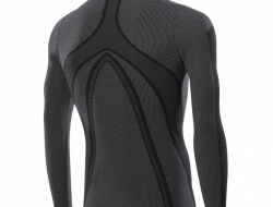 Sixs Long Sleeves Turtleneck Superlight Carbon Jersey - Size S