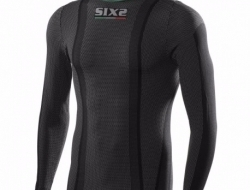Sixs Long Sleeves Turtleneck Superlight Carbon Jersey - Size M