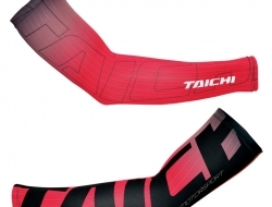 RS Taichi Graphic Coolride Arm Cover - Red - Size S