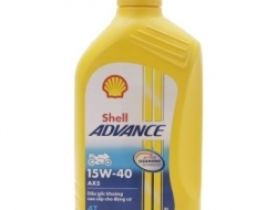 SHELL ADVANCE AX5 4T 15W40 1L