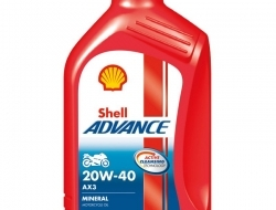 SHELL ADVANCE AX3 4T 20W40 1L