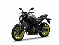 Yamaha MT07 (Grey)