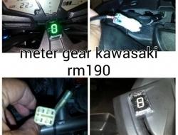 meter gear kawasaki