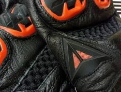DAINESE AIR GUANTO VR46 Glove - Orange line Size L