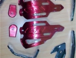 HAND GUARD NEW OLD YAMAHA FZ 150 AND DEMAK SKYLINE 200 (Red)