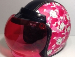 Retro Helmet Hello Kitty - Size XL