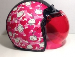 Retro Helmet Hello Kitty - Size XXL