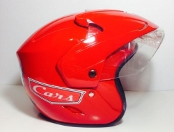 Kids Helmet Cars Red
