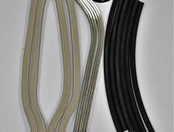 Vespa Floor Strip LI 2 Lambretta Silver