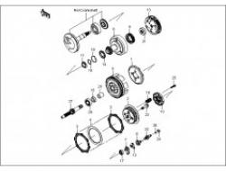 GT 128, ENGINE PARTS : CLUTCH